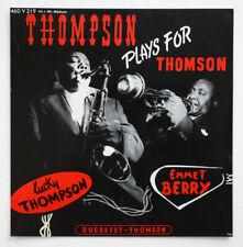 1956 ADVERTISING SHOP LUCKY THOMPSON & HENRI RENAUD ducretet-thomson french POS