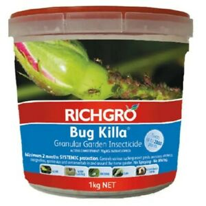 Richgro Bug Killa Granular Insecticide - 1 Kg, Can treat up to 500 plants