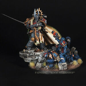 Warhammer 40K Lion El'Jonson – Primarch of the Dark Angels Legion, TOP painted