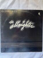 "GLEN FREY-All Nighter- 12"" Vinyl Record LP - EX"