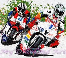 New listing 5D Diy My Diamond Art (Racing Bikes) Diamond Painting Kit (New)
