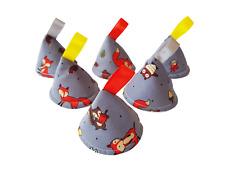 Pee Pee TeePee x 6 // Wee Teepees Cones // Boy Baby Shower Gift / Fox Woodland