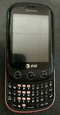 Pantech Swift Purple P6010 (Unlocked) Cell Phone Fast Ship Touch Very Good Used