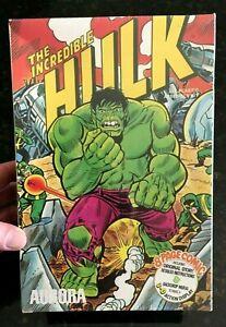 1974 Aurora Comic Scenes Incredible Hulk Model Kit Sealed Original Shrinkwrap!