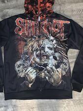 Slipknot Ripped Mask Hard Metal Sweatshirt Zip Jacket 2xl