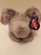 NWT Puffkins ELLY ELEPHANT Bean Bag Plush