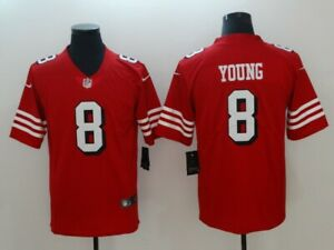 #8 Young Steve Jersey San Francisco 49ers Jerseys Champions Fan Football