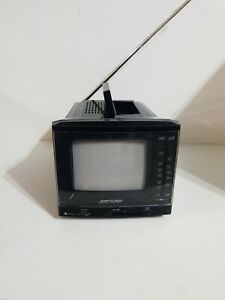 Solavox Olympic 6000 Colour Portable TV 240v/12v Tested & Working