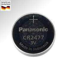 2x Panasonic CR 2477 Knopfzelle 3 Volt Lithium Batterie 1000 mAh 3V BR CR 2477 N