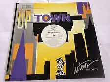 """Jodeci - Let's Go Through The Motions PROMO Uptown Records 12"""" Single LP"""