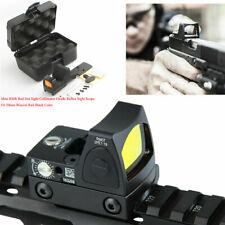 Mini Red Dot Sight Collimator Reflex Sight Scope Mount Fit 20mm Picatinny Rails