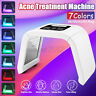 PDT 7 Color LED Light Facial Therapy Skin Rejuvenation Anti-aging Beauty Machine