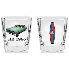 Classic Holden HR 1966 Design 2 Piece 285ml Spirit Glass Set New In Gift Box