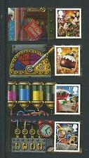 Great Britain 2010 Christmas Wallace And Gromit Cartor Litho Set Of 4 Unmounted