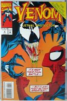 💥 VENOM LETHAL PROTECTOR #6 FINAL ISSUE MARVEL 1993 SPIDER-MAN FIRST PRINT VF