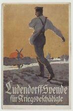 Künstler-AK, Ludendorff-Spende für Kriegsbeschädigte, ungelaufen (45439)