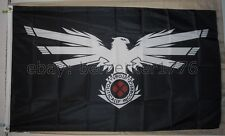 4chan POL Black Eagle Kekistani Pepe 3'x5' Flag Praise Kek USA seller shipper
