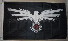 4chan POL Black Eagle Kekistani Pepe 3'x5' Flag Praise Kek USA seller shipper