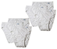 Jockey Women's Elance French Cut 6 Pack Underwear Classic Fit White Select Size
