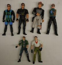 6 Jurassic Park Lost World Figure Lot