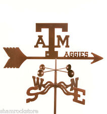 Texas A&M University Weathervane - Aggies - with Choice of Mount