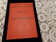 Vintage Envoy Extraordinary; Phillips Oppenheim; 1937; Stated First Edition Book