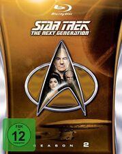 STAR TREK: THE NEXT GENERATION, Season 2 (5 Blu-ray Discs) NEU+OVP