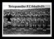 FC Schalke 04 Mannschaftskarte Kriegsmeister 40er Jahre