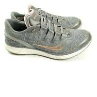 Saucony Freedom ISO Womens Size 10 Gray Copper Running Shoes S10355-30