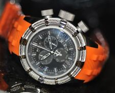 Invicta Men's Rare 6940 Bolt Swiss Reserve Chrono Black Dial Orange Poly Watch