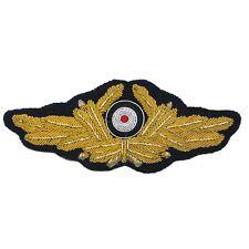 Diplomatic Cap Wreath & Cockade - WW2 Repro German Badge Patch Visor Uniform New