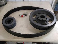 QUINCY Drive Group # 140117-502 CHANGE FROM 30HP TO 50HP PULLEYS & BELTS