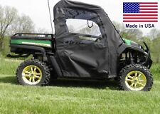 Soft Doors for John Deere Gator RSX / XUV / HPX - Zip Down Windows - Heavy Duty