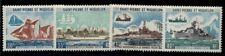 ST PIERRE & MIQUELON #408-11, Complete Fishing Fleet set, og, NH, VF, Scott $200