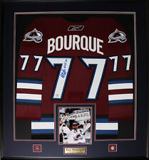 Ray Bourque Colorado Avalanche Signed jersey NHL Hockey Collector Frame