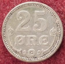 Denmark 25 Ore 1915 (E0102)
