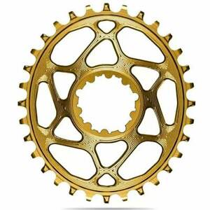 absoluteBLACK Oval Boost Chainring for SRAM. Gold