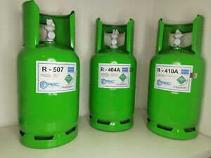 Kältemittel R404A R404 404 10,9kg Flasche Klima Gas Neu Original - ADR 2.2