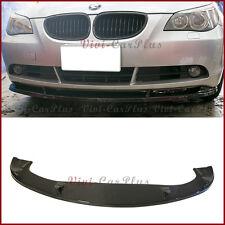 Carbon Fiber HM Type Front Lip Fit BMW 04-10 E60 E61 5-Series Standard OE Bumper