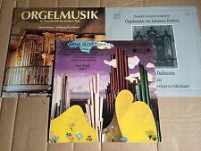 Organo Musica-Heintze/Sokol/Dallmann-Keitum/Hüffenhardt/Olomouc - 3 LP