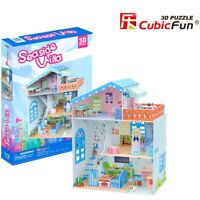 Seaside Villa House 3D Model DIY Puzzle Hobby Building Kit Build Toy Girls Kids