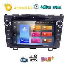 Android 8.0 4GB+32GB Car DVD GPS Navi Wifi Radio For Honda CR-V/CRV 2007-2011
