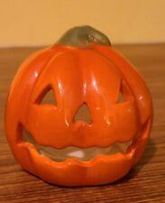"Jack-O-Lantern Candle Holder Tea Light Halloween Decoration 3"""
