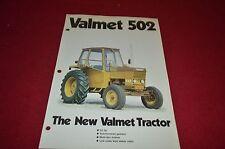 Valmet 502 Tractor Dealer's Brochure DCPA2