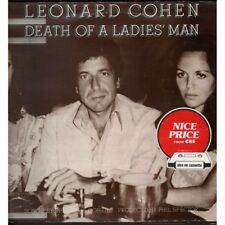 Leonard Cohen Lp Vinile Death Of A Ladies' Man / CBS 32661 Nuovo