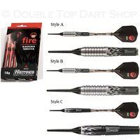 Harrows Fire 90% Tungsten Soft Tip Darts