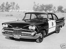 Dodge Coronet High Way Patrol Interceptor 1959 8 x 10 Restored  Photograph