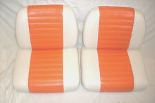 Harley davidson  golf cart seat cover staple or glue on