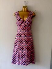 Lily and Me lovely quality floral lined dress size UK 8