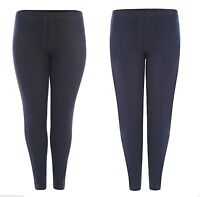 New Plus size Women Ladies skinny Fit Blue Black White Jegging Legging 14-28